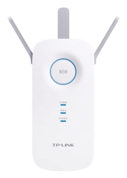 TP Link AC1750 Gigabit Wi Fi Range Extender White RE450 Best Buy