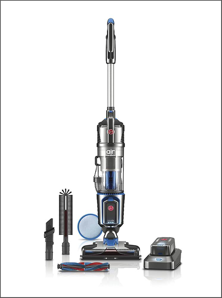 Hoover Air Cordless Series 3.0 Bagless Upright Vacuum Gray