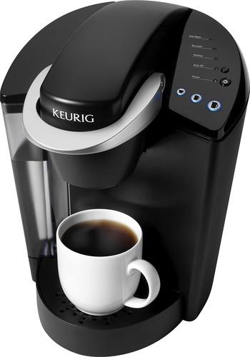 Keurig K40 Elite SingleServe Coffeemaker Black 114044