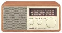 Best Buy: Sangean WR11 Analog AM/FM Tabletop Radio Walnut ...