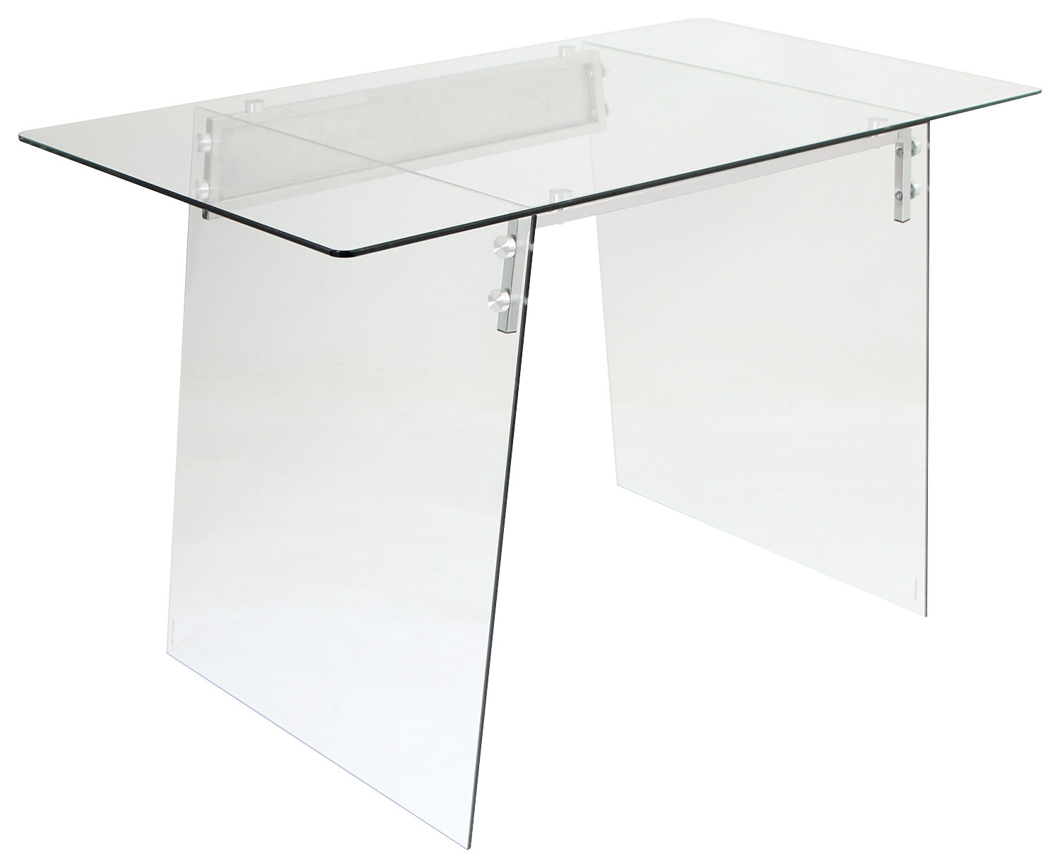LumiSource Glacier Desk Clear OFDTMGLACE  Best Buy