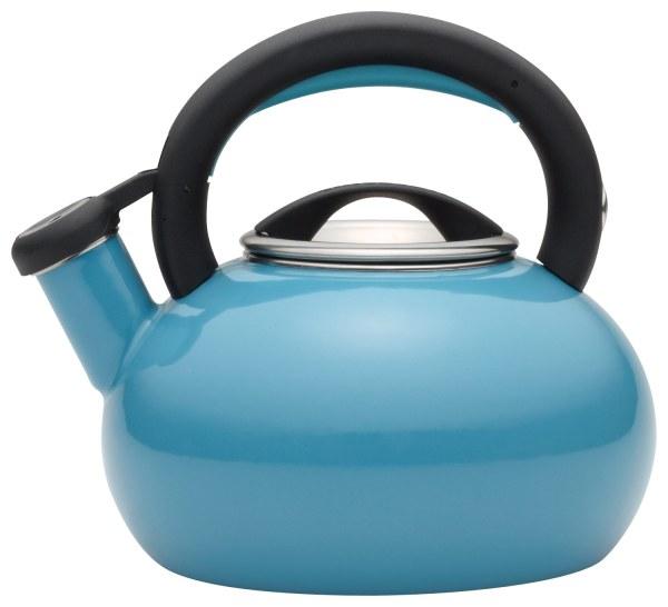 Circulon Sunrise 1.5-quart Tea Kettle Capri Turquoise 51244
