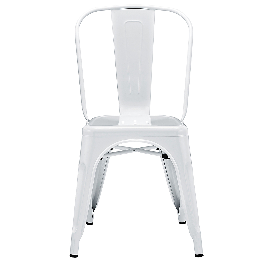 desk chair best buy accent arm white office chairs walker edison contemporary powder coated steel cafe kitchen home antique