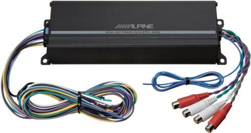small resolution of alpine power pack 180w class d bridgeable multichannel amplifier with high pass filter black ktp 445u best buy