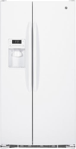 Best Buy: GE 25.9 Cu. Ft. Side-by-Side Refrigerator with