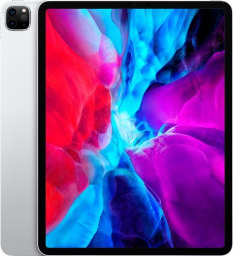 Apple - 12.9-Inch iPad Pro (4th Generation) with Wi-Fi + Cellular - 512GB (Unlocked) - Silver