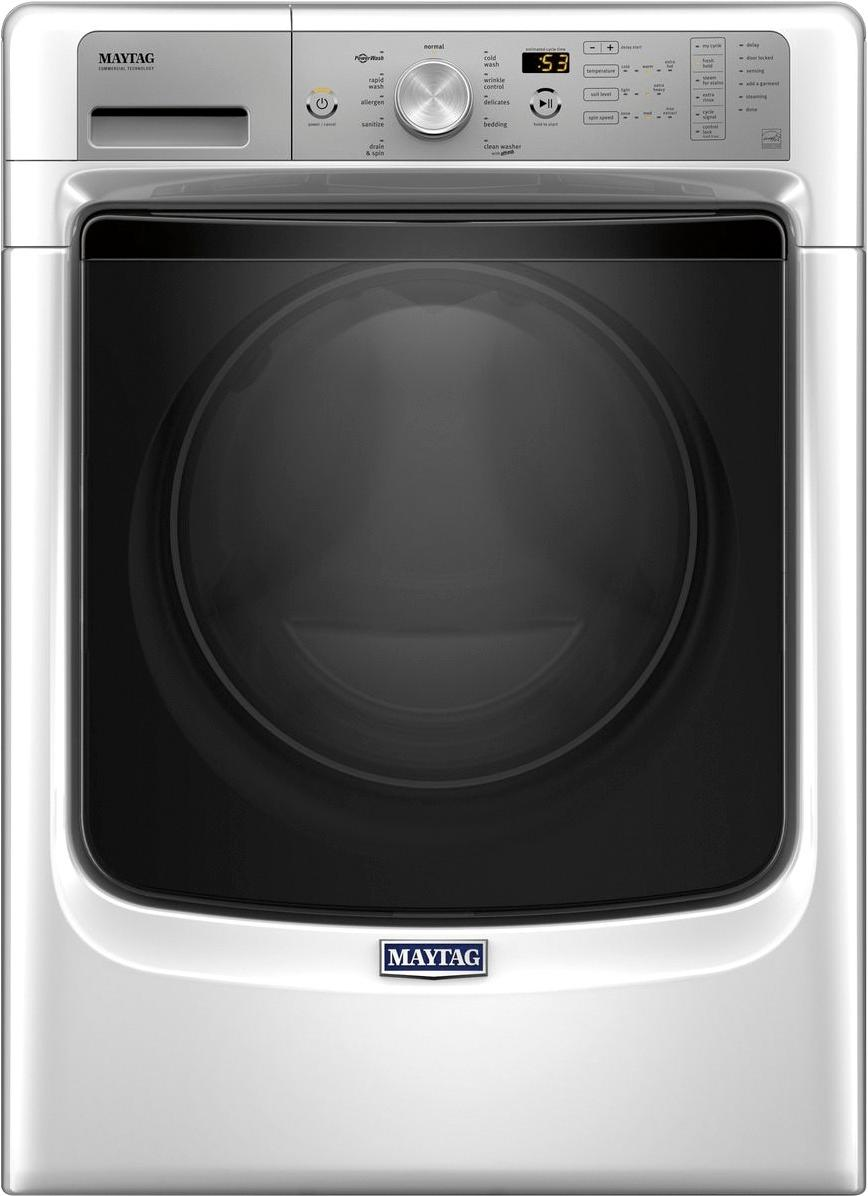 medium resolution of best buy maytag 4 5 cu ft 11 cycle front loading washer white mhw5500fw