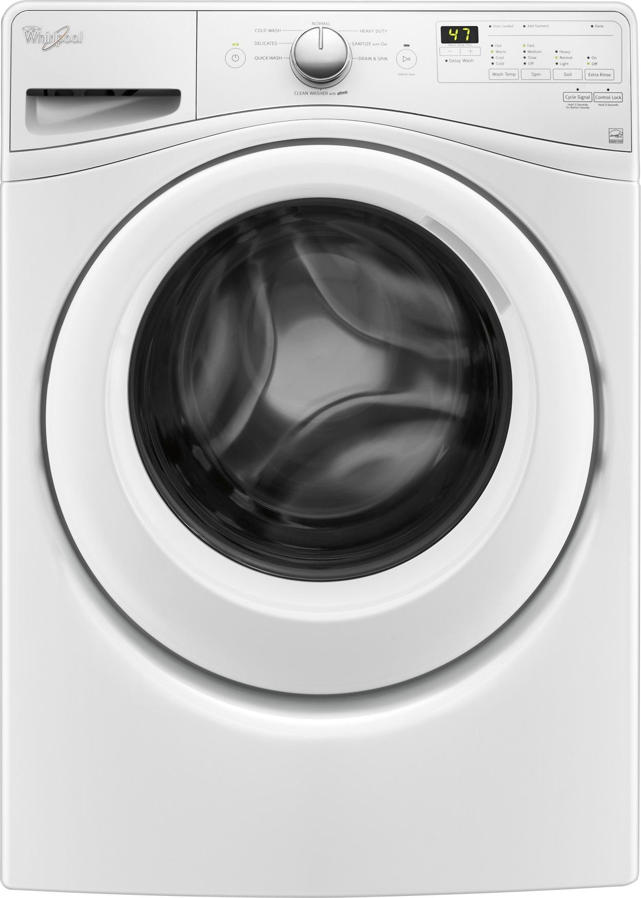 hight resolution of best buy whirlpool 4 5 cu ft 8 cycle high efficiency front load washer white wfw75hefw