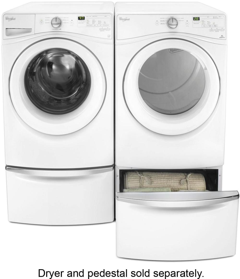medium resolution of best buy whirlpool 4 5 cu ft 8 cycle high efficiency front load washer white wfw75hefw