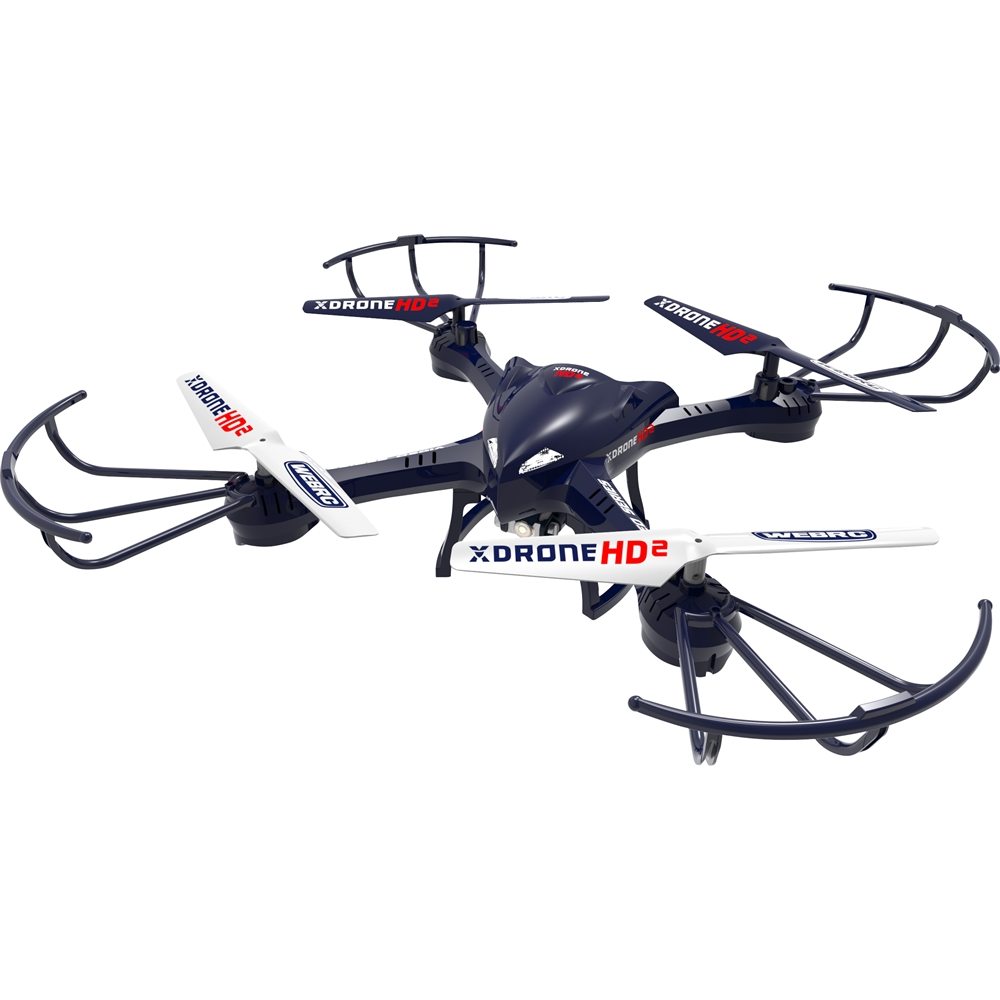 WebRC XDrone HD 2 Remote-Controlled Quadcopter Blue