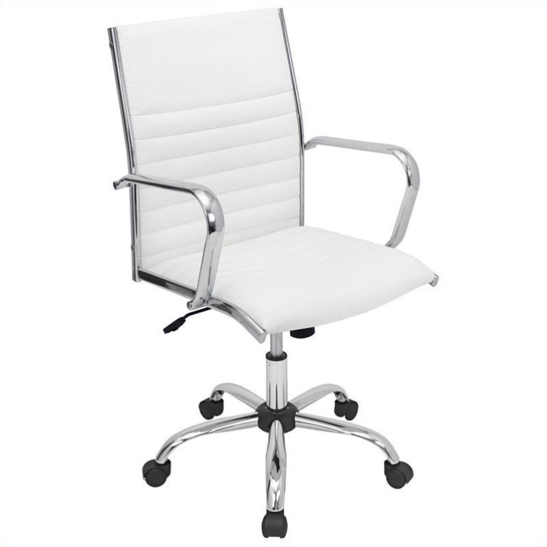 desk chair best buy cover hire wellington modern office chairs lumisource master in white