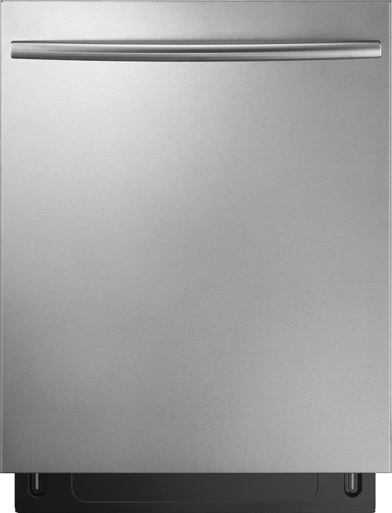 Samsung Dishwasher Kick Plate : samsung, dishwasher, plate, Samsung, StormWash™,, Rack,, Control, Built-In, Dishwasher, Stainless, Steel, DW80K7050US