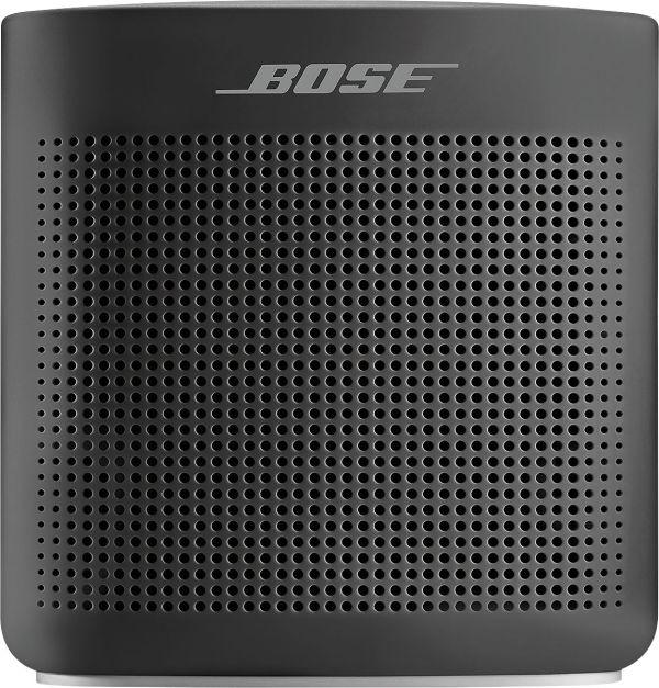 Bose Soundlink Color Portable Bluetooth Speaker Ii Soft Black 752195-0100