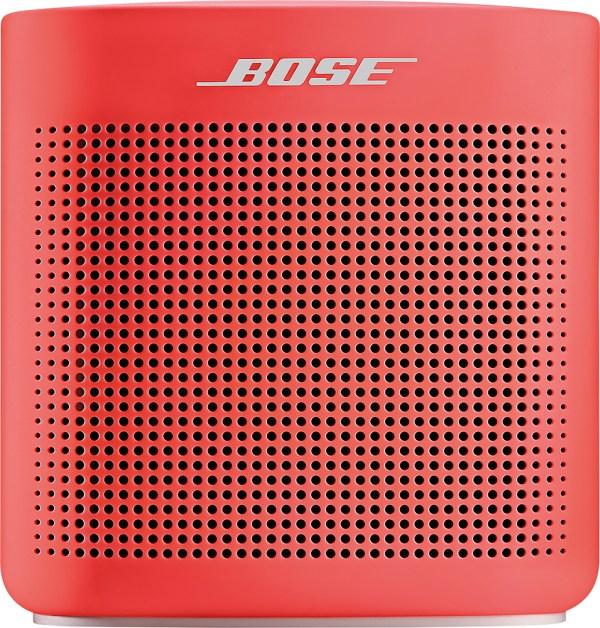 Bose Soundlink Color Portable Bluetooth Speaker Ii Coral Red 752195-0400