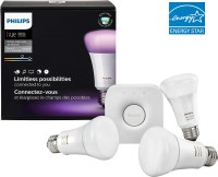 Philips Hue White and Color Ambiance A19 Starter Kit White ...