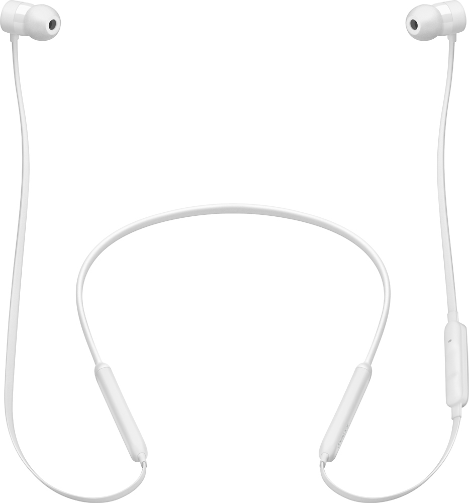 Best Buy: Beats by Dr. Dre BeatsX Earphones White MLYF2LL/A