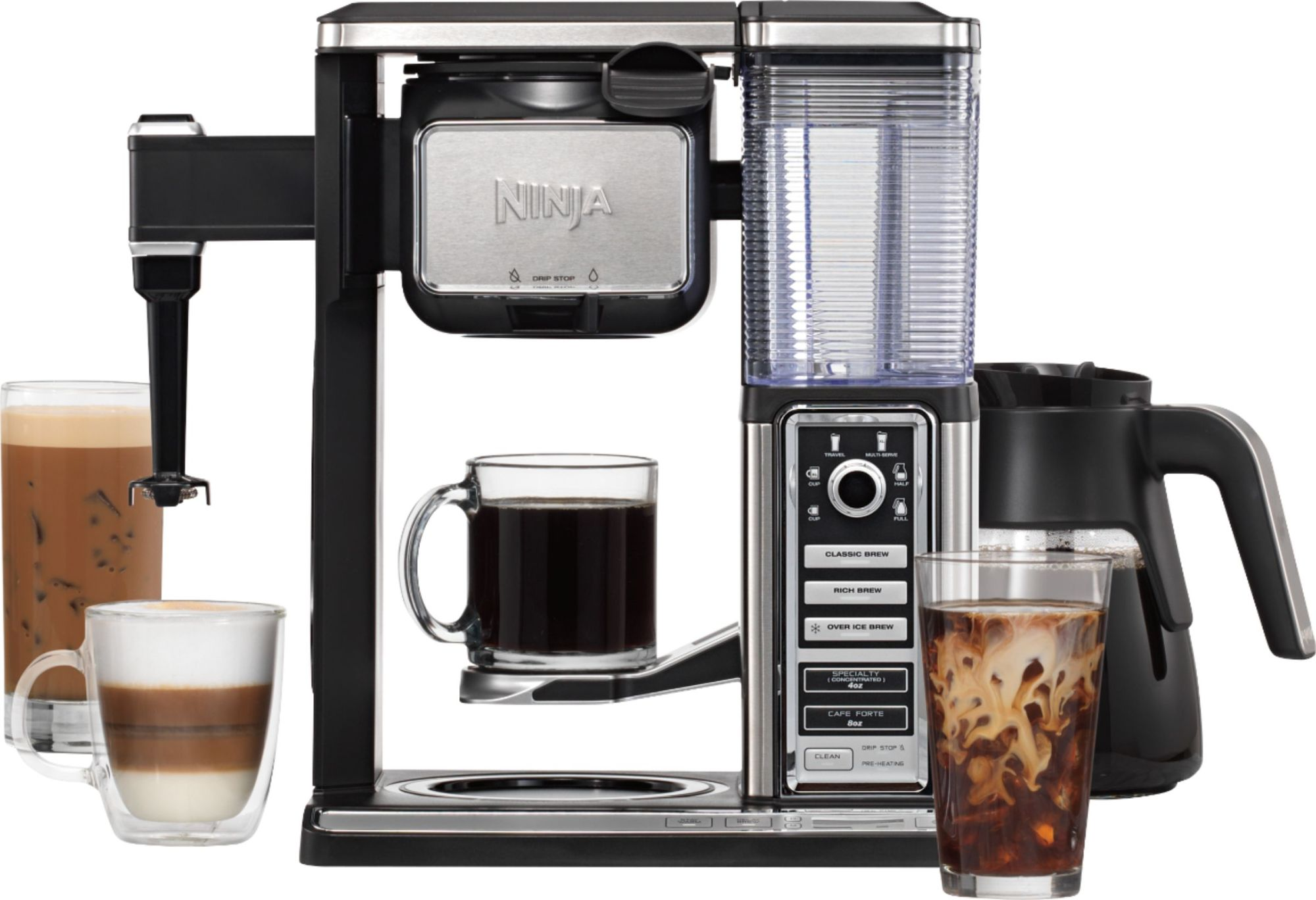 hight resolution of ninja coffee bar 10 cup coffee maker black stainless cf091 best buy with coffee maker schematic diagram on x ray machine parts diagram