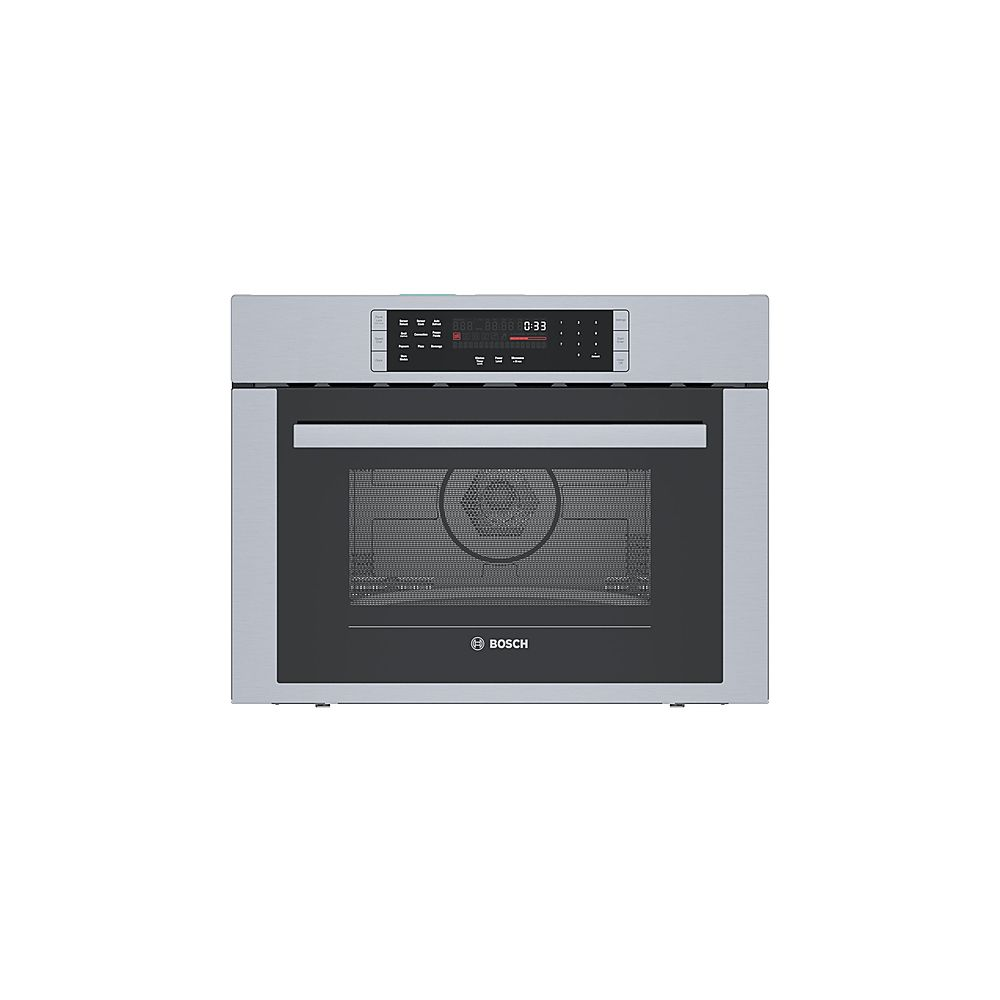 bosch 500 series 1 6 cu ft built in microwave stainless steel