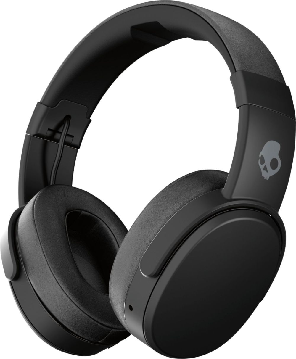 medium resolution of skullcandy crusher wireless over the ear headphones black coral s6crw k591 best buy