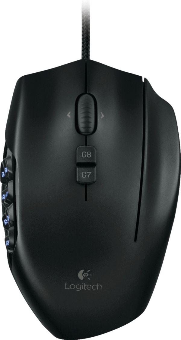 Logitech G600 Mmo Gaming Mouse Black 910-002864