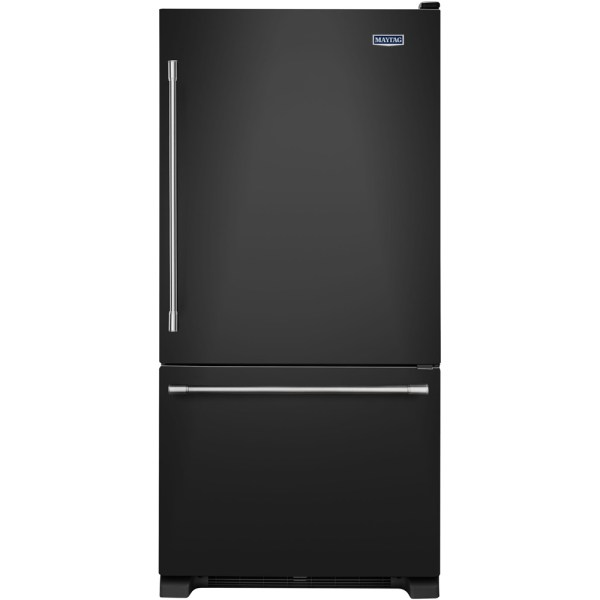 Black Bottom Freezer Refrigerators