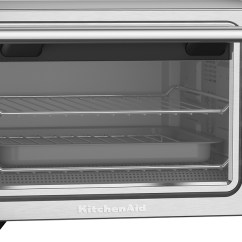 Kitchen Aid Ovens Beadboard Cabinets Kitchenaid Kco253cu Convection Toaster Pizza Oven Silver Best Buy