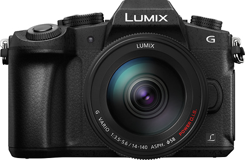 Panasonic - LUMIX G85 Mirrorless 4K Photo Digital Camera Body with 12-60mm Lens - Black
