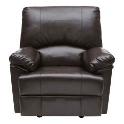 Rocker And Recliner Chair Metal Chaise Lounge Chairs With Wheels Relaxzen Heat Massage Brown 60 7000m Front Zoom