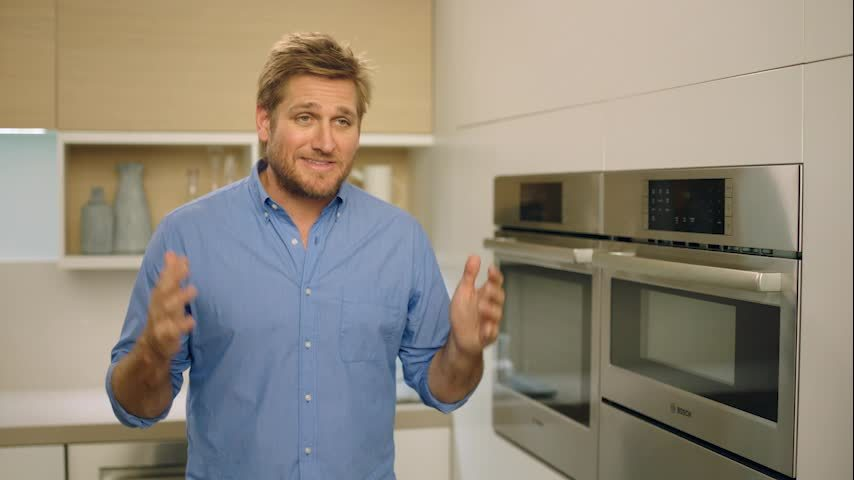 bosch 500 series 30 single electric convection wall oven with built in microwave stainless steel