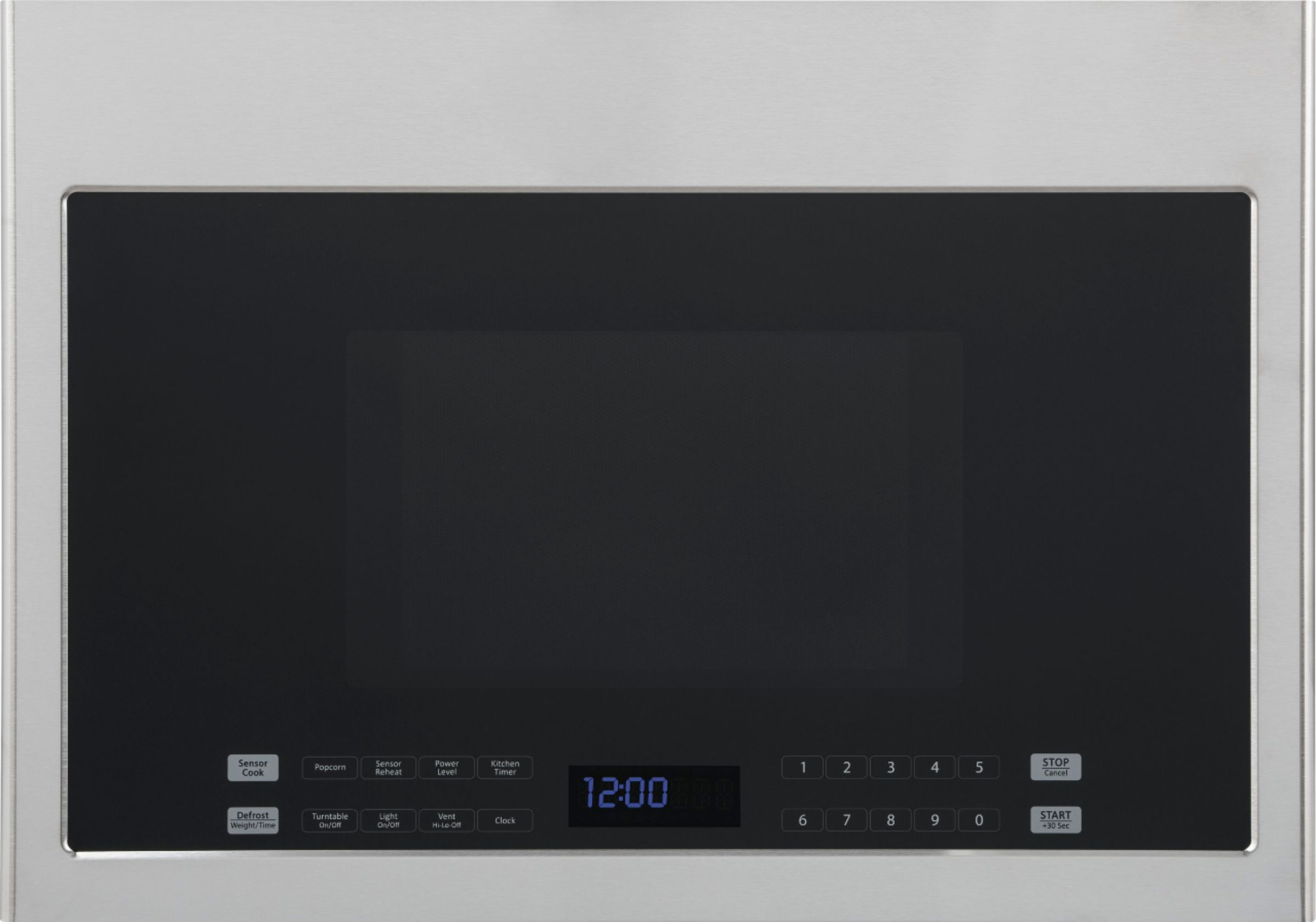 haier 1 4 cu ft over the range microwave with sensor cooking stainless steel