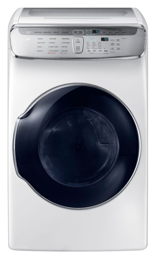small resolution of capacity flexdry electric dryer white dve60m9900w best buy