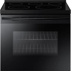 Electric Stove Simple Bat Diagram Best Buy Convection Freestanding Range Black