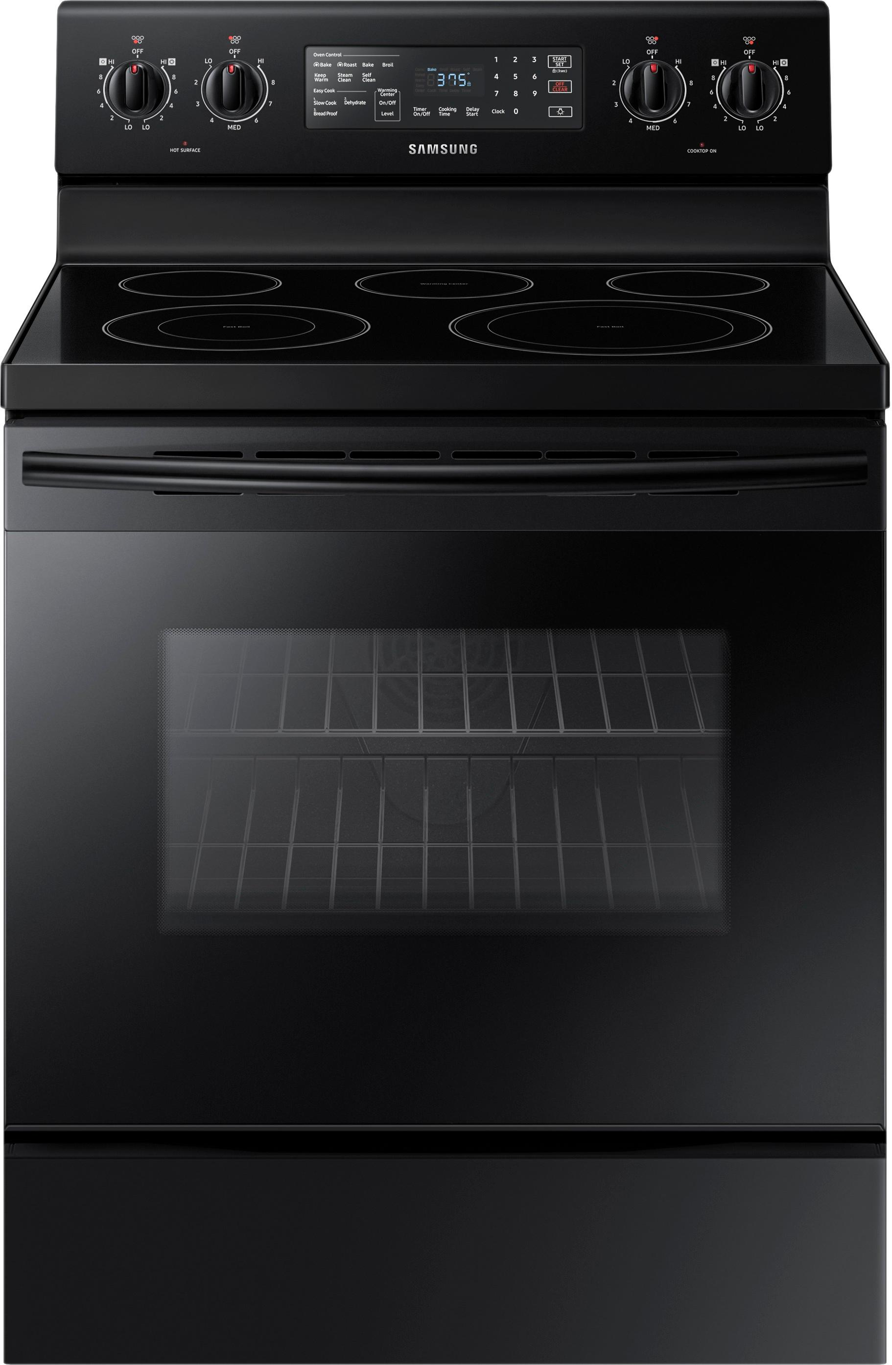 electric stove 2005 f150 ac clutch wiring diagram best buy convection freestanding range black