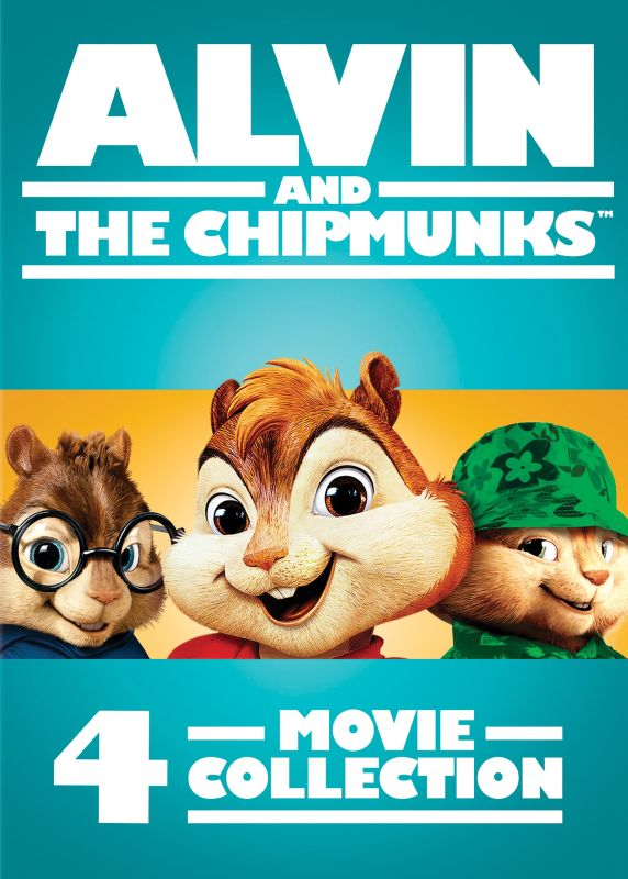 Alvin Et Les Chipmunks 5 : alvin, chipmunks, Alvin, Chipmunks:, 4-Movie, Collection, Discs], [DVD]