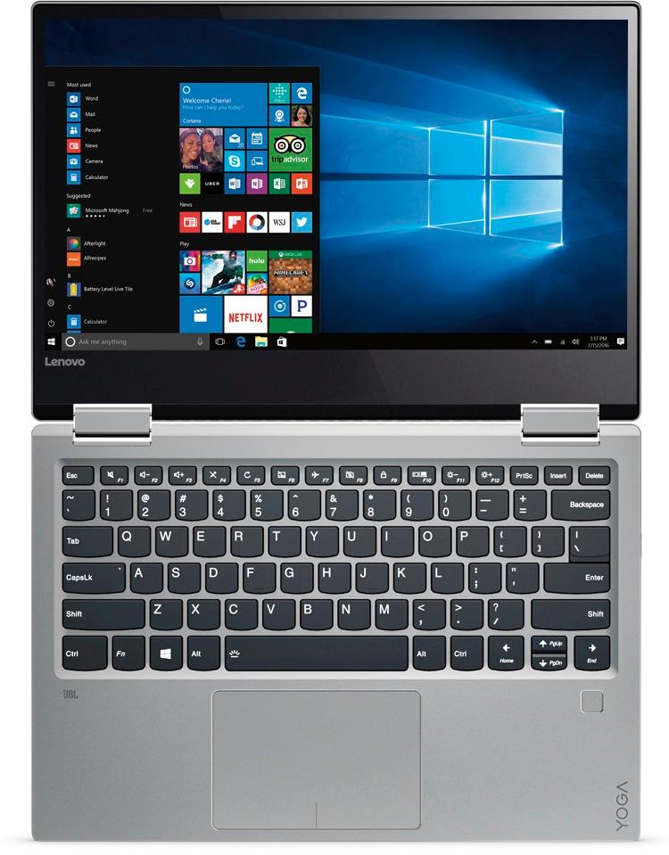 Lenovo Yoga 720 Ports : lenovo, ports, Lenovo, 2-in-1, 13.3