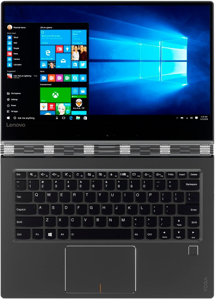 Yoga 910 Best Buy : Lenovo, 2-in-1, Touch-Screen, Laptop, Intel, Memory, 256GB, Solid, State, Drive, 80VF00FQUS