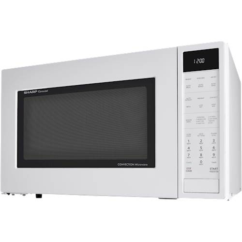 sharp carousel 1 5 cu ft mid size microwave white