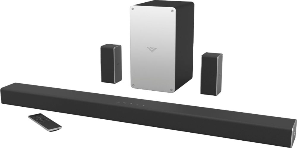 medium resolution of vizio smartcast 5 1 channel sound bar system with 5 1 4 wireless subwoofer black sb3651 e6 best buy