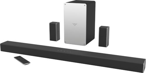 small resolution of vizio smartcast 5 1 channel sound bar system with 5 1 4 wireless subwoofer black sb3651 e6 best buy