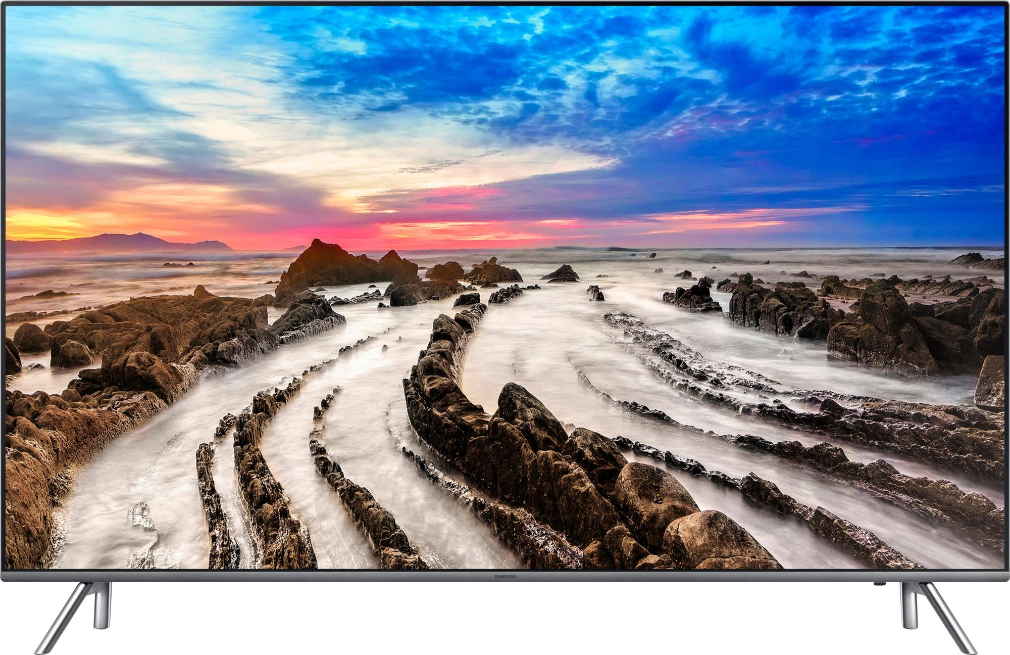 hight resolution of samsung 49 class led mu8000 series 2160p smart 4k uhd tv with hdr black un49mu8000fxza best buy