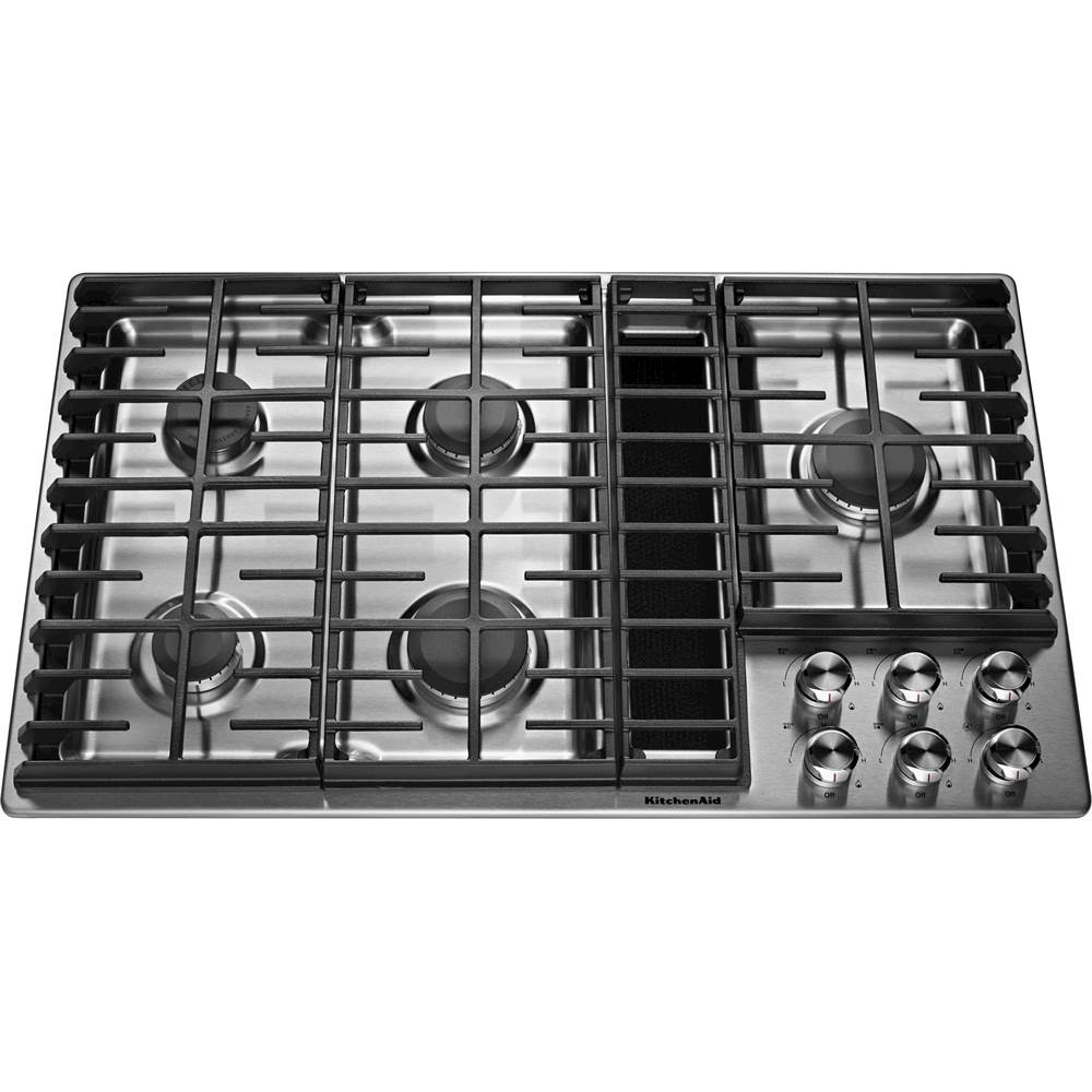 kitchen inch downdraft gas cooktop