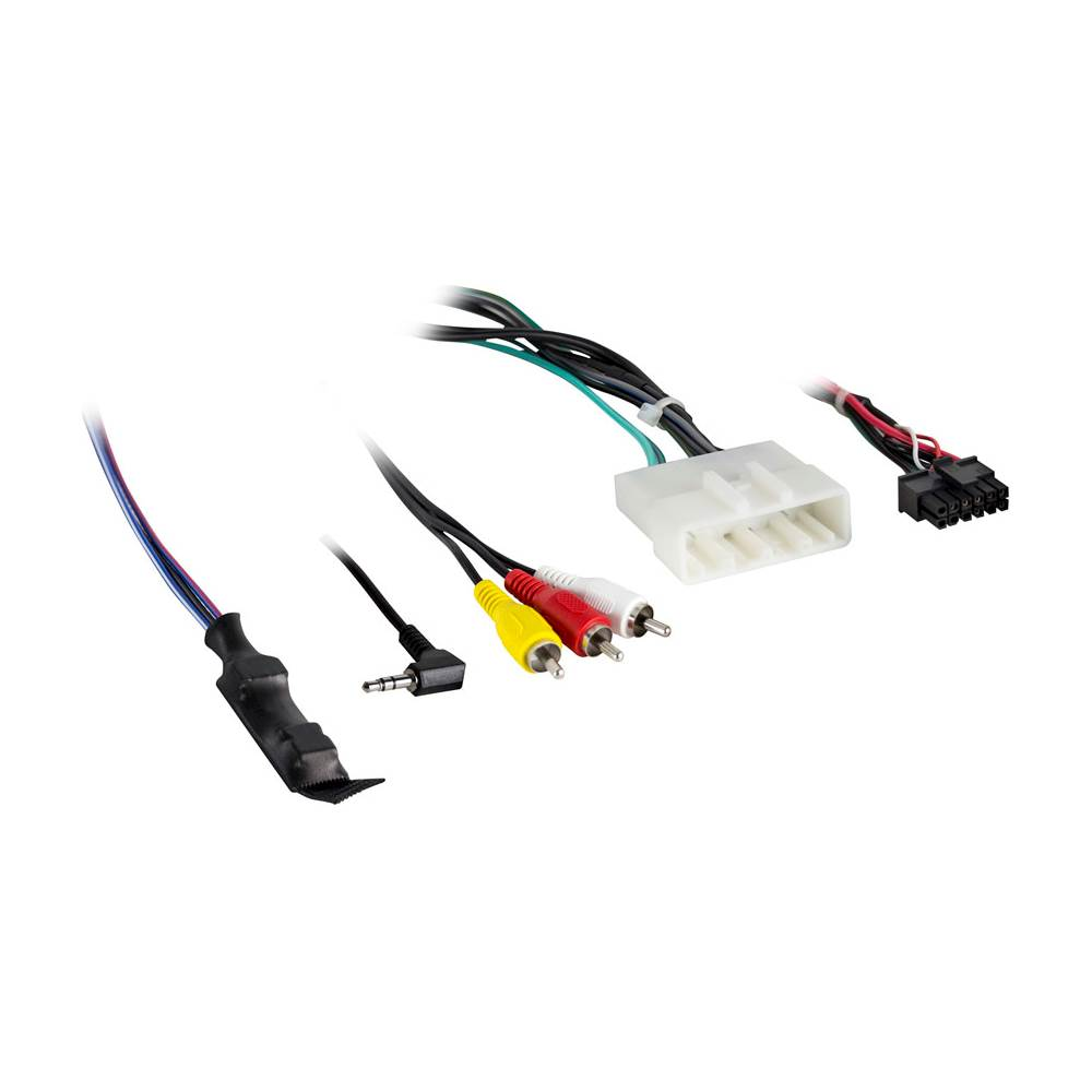 hight resolution of axxess wiring harness for select subaru vehicles black ax sub28swc 6v best buy