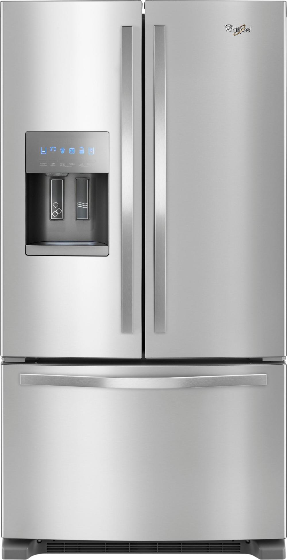 medium resolution of ft french door refrigerator stainless steel front zoom