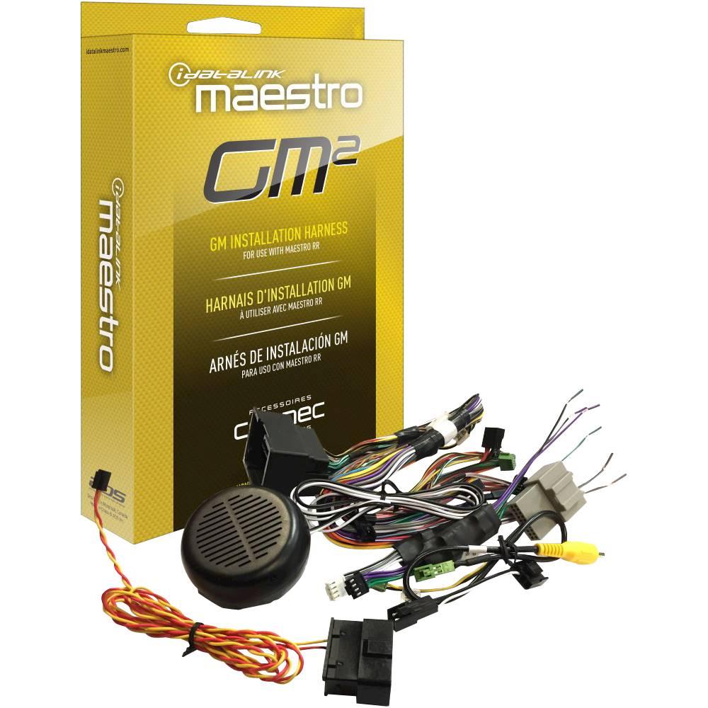 medium resolution of idatalink gm2 plug play t harness black front zoom