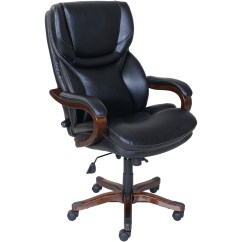 La Z Boy Black Leather Executive Office Chair Uk Made To Order Chairs Furniture Storage Best Buy Serta 5 Pointed Star Bonded And Bentwood Front Zoom