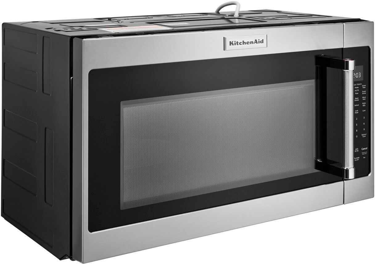 kitchenaid 2 0 cu ft over the range microwave with sensor cooking stainless steel