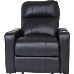 Theater Chairs Best Buy Adrian Pearsall Rocking Chair Octane Seating Turbo Xl700 Power Recline Home Black Front Zoom