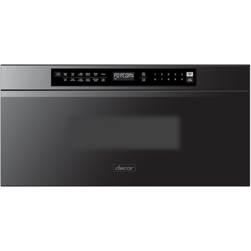 dacor 30 1 2 cu ft built in microwave drawer with multi sequence cooking and smart moisture sensor graphite stainless steel