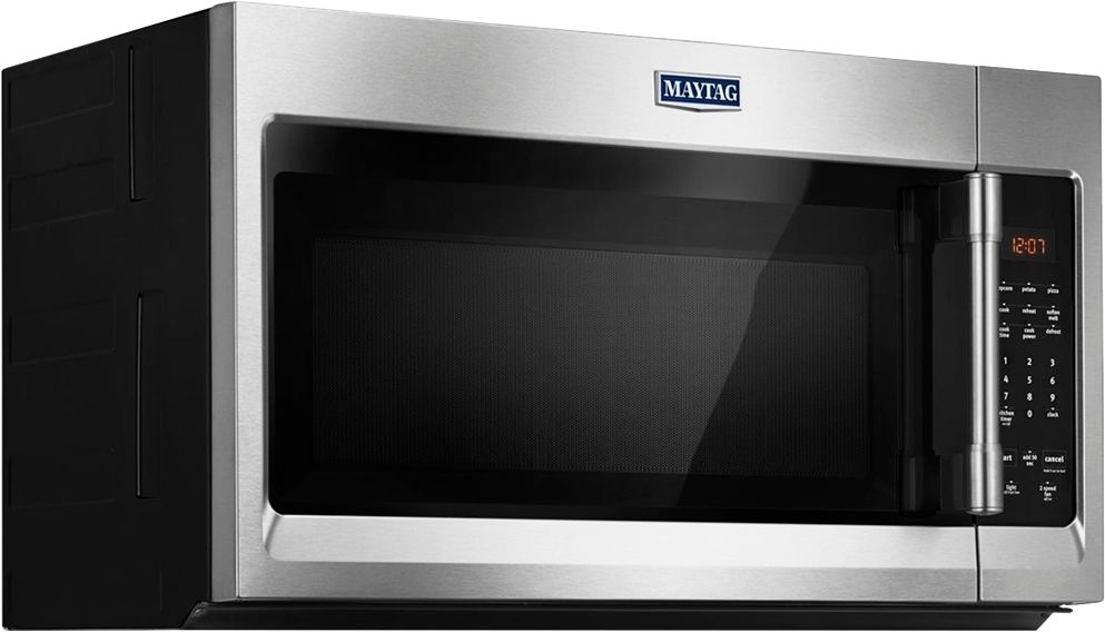 hight resolution of ft over the range microwave stainless steel