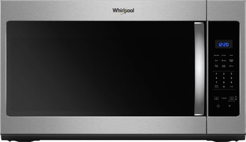 questions and answers whirlpool 1 7 cu ft over the range fingerprint resistant microwave stainless steel fingerprint resistant stainless steel wmh31017hz best buy